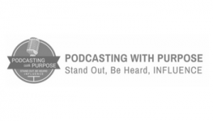 Podcasting With Purpose Logo