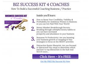 Biz Success 4 Coaches