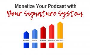 Monetize Podcast Signature System