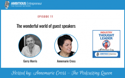 11: The wonderful world of guest speakers